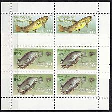Buy GERMANY DDR [1987] MiNr 3096-97 KB ( **/mnh ) Fische