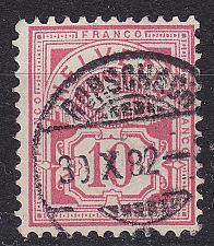 Buy SCHWEIZ SWITZERLAND [1882] MiNr 0047 ( O/used ) [01]