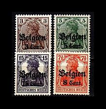 Buy GERMANY REICH Besetzung [Belgien] MiNr 0010 ex ( */mh ) [01]