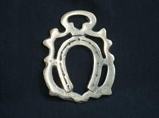 Buy Vintage Horse Shoe Horseshoe Horse Brass Medallion Harness Antique Tack