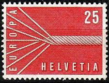 Buy SCHWEIZ SWITZERLAND [1957] MiNr 0646 ( **/mnh ) CEPT