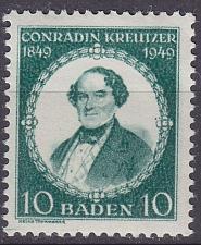 Buy GERMANY Alliiert Franz. Zone [Baden] MiNr 0053 I ( **/mnh )