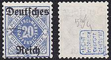 Buy GERMANY REICH Dienst [1920] MiNr 0055 y ( O/used ) [01]