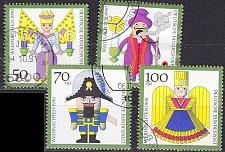 Buy GERMANY BUND [1990] MiNr 1484-87 ( O/used ) Weihnachten