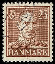 Buy Denmark #283 King Christian X; Used (4Stars) |DEN0283-02XRS