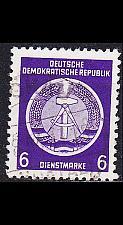 Buy GERMANY DDR [Dienst A] MiNr 0002 I ( OO/used )