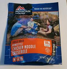 Buy Mountain House Freeze Dried Food CHICKEN NOODLE CASSEROLE 6.35 OZ Sealed