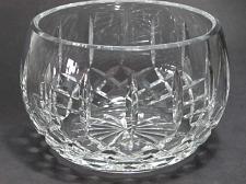 Buy Hand cut glass bowl, 24% lead crystal Great gift or award customize hand polish