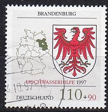 Buy GERMANY BUND [1997] MiNr 1941 ( O/used ) Wappen