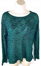 Buy H&M Divided Women's Crew Neck Semi-Sheer Sweater Size XS Solid Teal