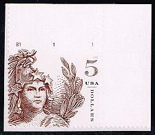 Buy US #5297 Statue of Freedom; MNH P# Single (10.00) (5Stars) |USA5297-03