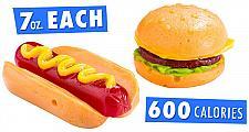 Buy Gummy Fast Food Hot Dog Candy Hamburguer +Free Gift + Free Shipping