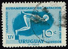 Buy Uruguay **U-Pick** Stamp Stop Box #159 Item 15 |USS159-15