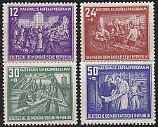Buy GERMANY DDR [1952] MiNr 0303-06 ( **/mnh )