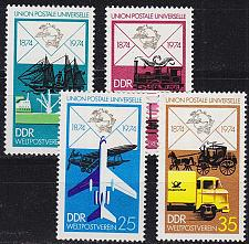 Buy GERMANY DDR [1974] MiNr 1984-87 ( **/mnh ) Post