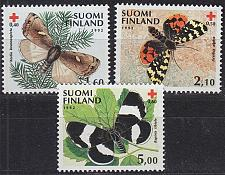 Buy FINLAND SOUMI [1992] MiNr 1169-71 ( **/mnh ) Schmetterling