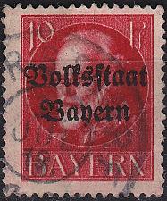 Buy GERMANY Bayern Bavaria [1919] MiNr 0119 A ( O/used )