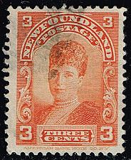 Buy Newfoundland #83 Queen Alexandra as Princess of Whales; Used (3Stars) |NFD083-02