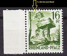 Buy GERMANY Alliiert Franz. Zone [RheinlPfalz] MiNr 0006 yv I ( **/mnh )