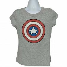 Buy Marvel Youth Captain America Symbol Superhero Comics T-Shirt XXL Short Sleeve