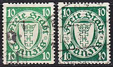 Buy GERMANY REICH Danzig [1924] MiNr 0194 Dx,y ( OO/used ) [01]