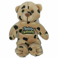 "Buy Teddy Grahams Chocolatey Chip Bear Plush Stuffed Animal 7"""
