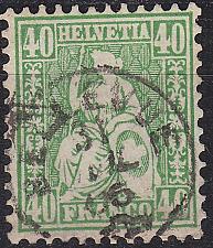 Buy SCHWEIZ SWITZERLAND [1862] MiNr 0026 ( O/used ) [02]