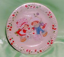 Buy STRAWBERRY SHORTCAKE American Greetings Plastic Coated 7in Dessert Plates Sealed