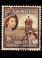 Buy MALTA [1956] MiNr 0246 ( O/used )