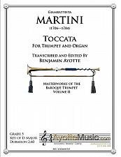 Buy Martini - Toccata for Trumpet and Organ