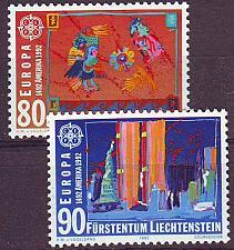 Buy LIECHTENSTEIN [1992] MiNr 1033-34 ( **/mnh ) CEPT