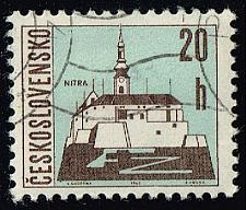 Buy Czechoslovakia #1347 Nitra; CTO (0.25) (3Stars) |CZE1347-07