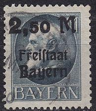Buy GERMANY Bayern Bavaria [1919] MiNr 0176 A ( O/used ) [02]