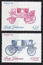 Buy VATIKAN VATICAN [1985] MiNr 0880-81 ( **/mnh )
