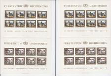 Buy LIECHTENSTEIN [1978] MiNr 0706-09 Kleinbogen ( **/mnh )