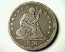 Buy 1856 SEATED LIBERTY QUARTER EXTRA FINE XF EXTREMELY FINE EF NICE ORIGINAL COIN