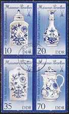 Buy GERMANY DDR [1989] MiNr 3241-44 II 4er ( OO/used ) Meissen