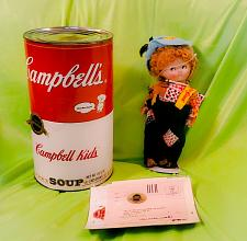 Buy 1994 Campbell's Soup Kids Porcelain Doll with COA MINT
