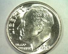 Buy 1952 ROOSEVELT DIME GEM NICE ORIGINAL COIN FROM BOBS COINS FAST SHIPMENT