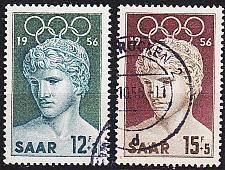Buy GERMANY Saar [1956] MiNr 0371-72 ( O/used )