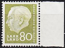 Buy GERMANY Saar [1957] MiNr 0396 ( **/mnh )