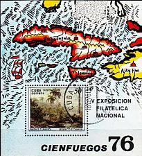 Buy KUBA CUBA [1976] MiNr 2175 Block 48 ( O/used ) Gemälde