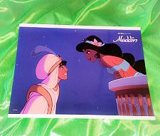 Buy Authentic Walt Disney World Aladdin 11x14 Glossy Lobby Card 5 Mnt