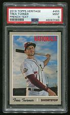 Buy 2019 TOPPS HERITAGE FRENCH TEXT TREA TURNER #455 PSA 9 MINT (46067065)