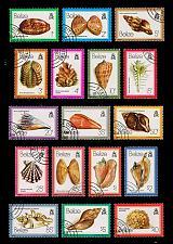 Buy Belize #471-487 Sea Shells Set of 17; CTO (5Stars) |BEZ0487set-01XRP