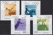 Buy GERMANY BUND [1996] MiNr 1861-64 ( **/mnh ) Olympiade