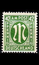 Buy GERMANY Alliiert AmBri [1945] MiNr 0031 C ( **/mnh )