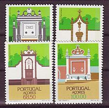 Buy PORTUGAL [Azoren] MiNr 0377-80 ( **/mnh ) Bauwerke