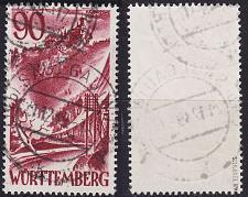 Buy GERMANY Alliiert Franz. Zone [Württemberg] MiNr 0037 ( O/used ) [01] geprüft