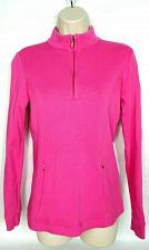 Buy Fairway & Greene Women's Pullover Sweater XS 1/2 Zip Pink Greenbriar Hills CC